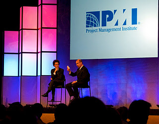 Malcolm Gladwell presents at PMI Global Congress